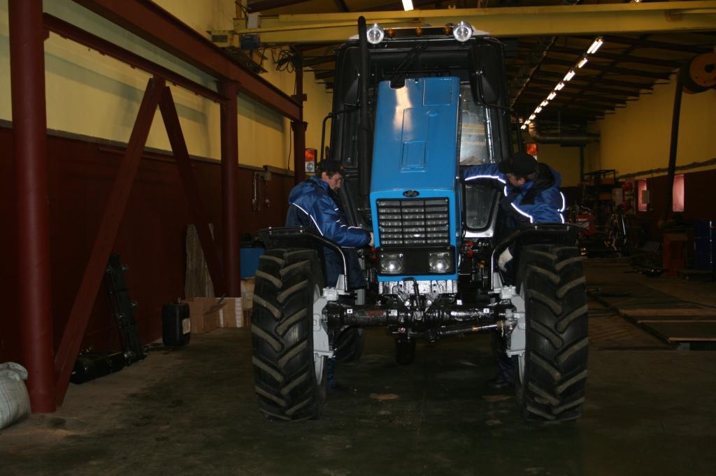 Ремонт тракторов в Коломне