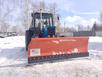 Отвал для уборки снега STT для трактора и погрузчика