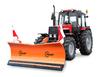 Отвал гидравлический с поворотом на трактор Hauer HSH 2800