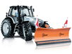 Отвал для уборки снега Hauer HSh 2800 на трактор трактор Lamborghini