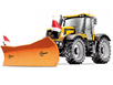 Отвал для уборки снега SRS-3L на трактор JCB - fastrac