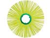 Щеточный диск беспроставочный 78x400 для мотоблока