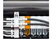 Третья функция с одиночными муфтами для навесного гидро-оборудования погрузчика